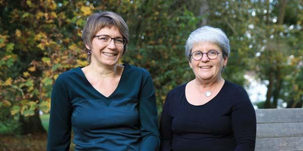 Die Herausgeberinnen Andrea Rothe und Sabine Straßburg